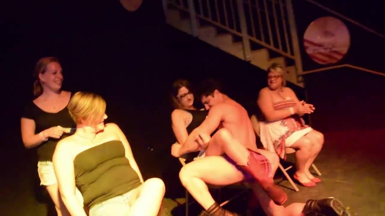 Stripper at bachelorette party