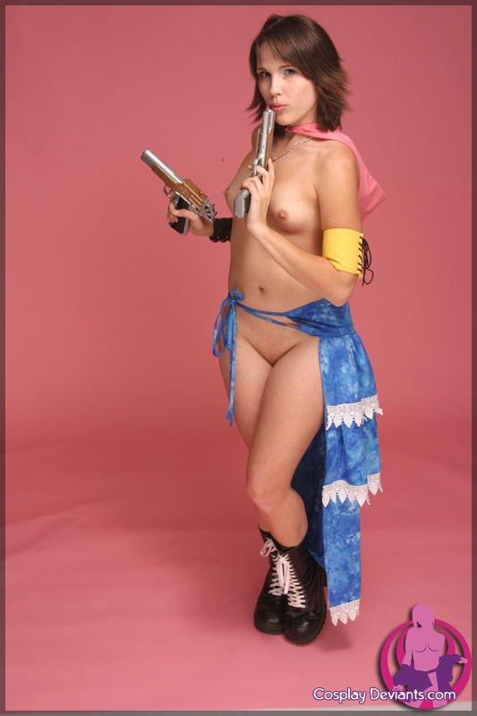 Fantasy yuna nude cosplay final