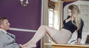 Amateur wife fucking black stockings