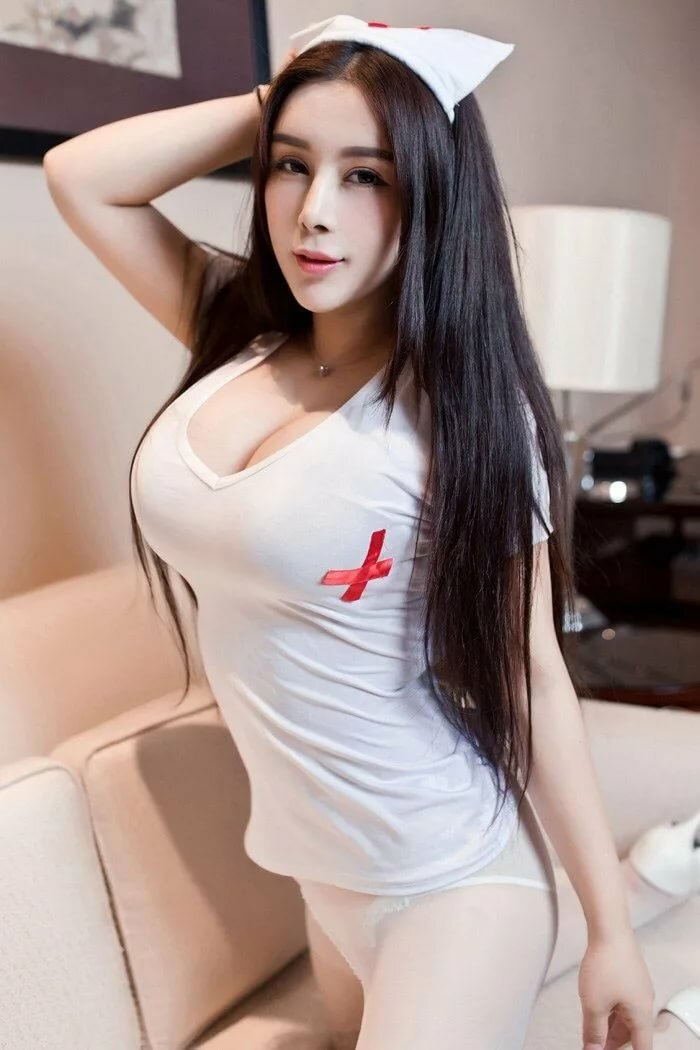 Hair hot asian wife long