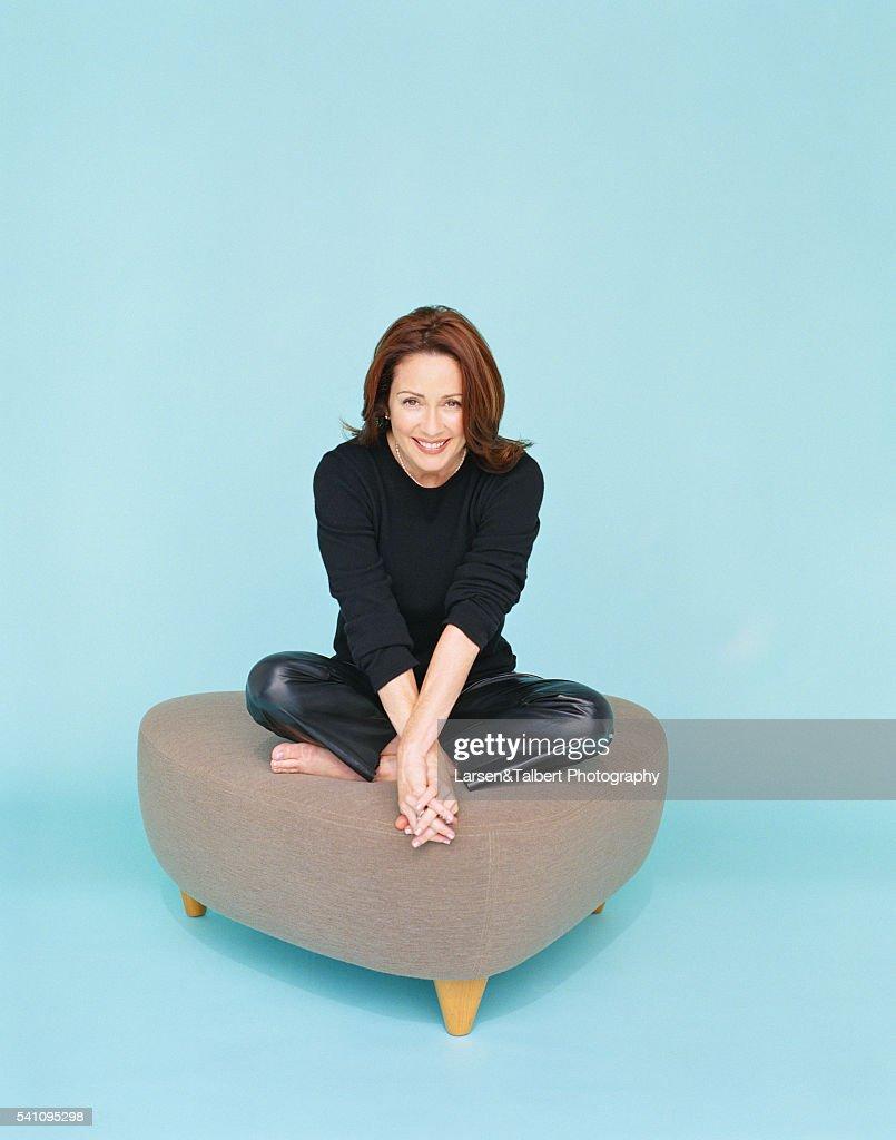 Patricia heaton leather pants