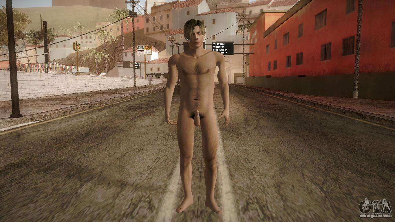 Cj andreas nude gta san