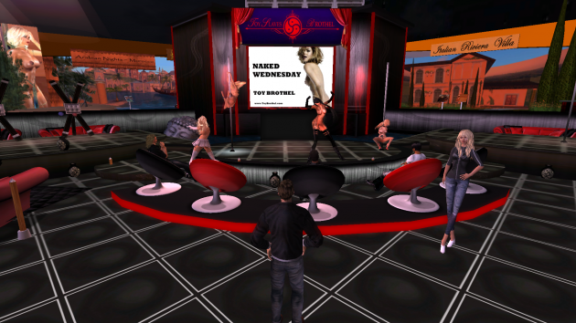 Second life sex clubs