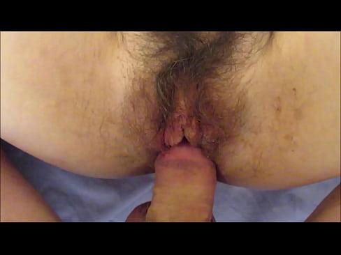 Mature hairy pussy creampie cum