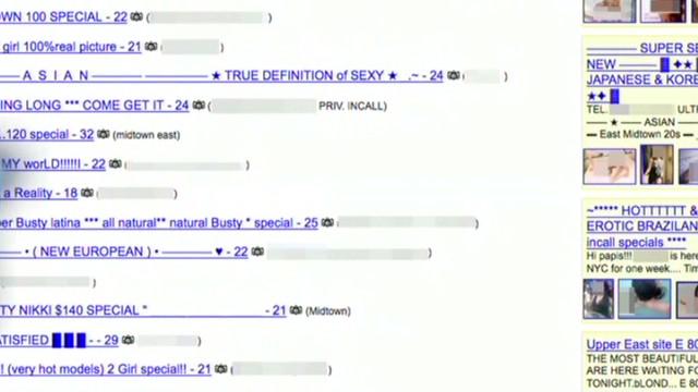 Sex craigslist erotic slaves services