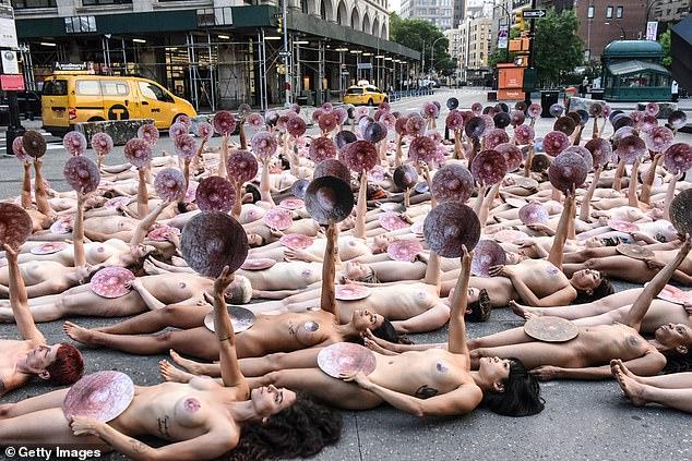 Junior family nudist nude naked