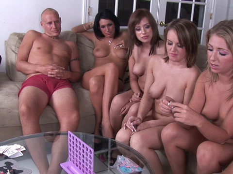 Sex roulette strip poker party game