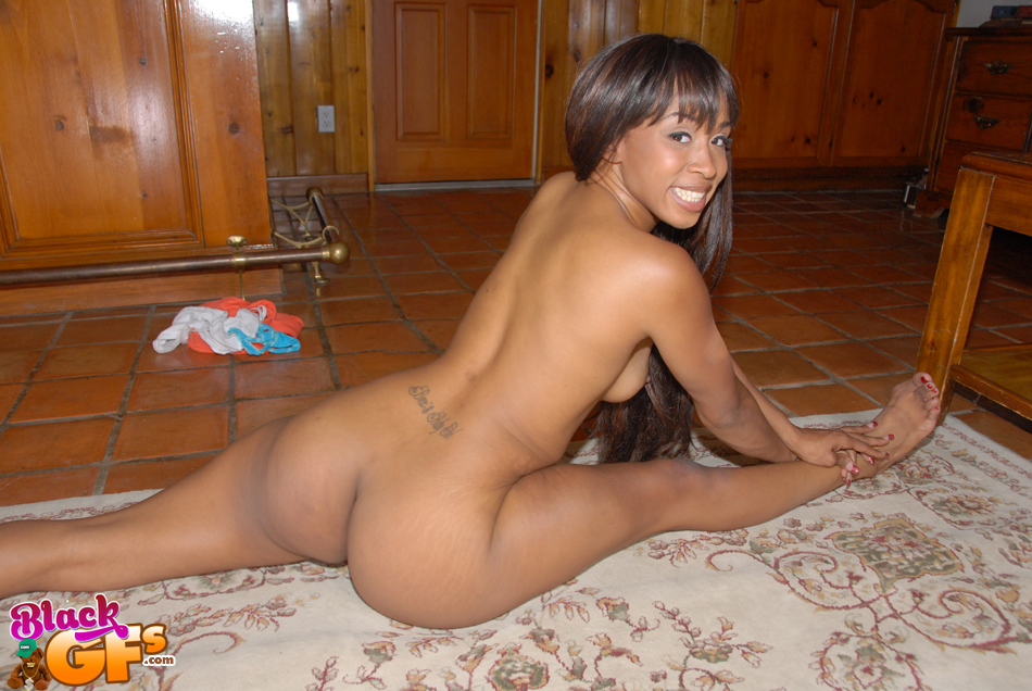 Cute black girl nice ass fucked