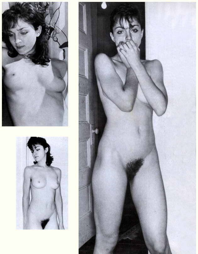Madonna nude naked tits