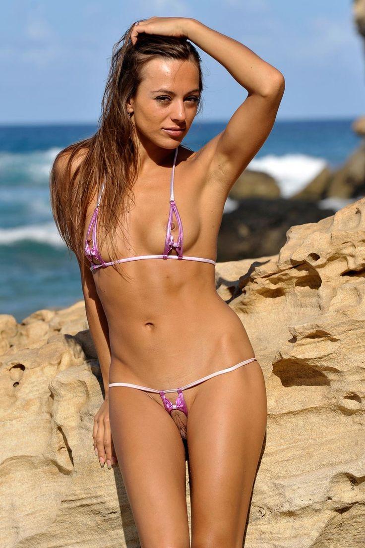 Micro bikini naked girls