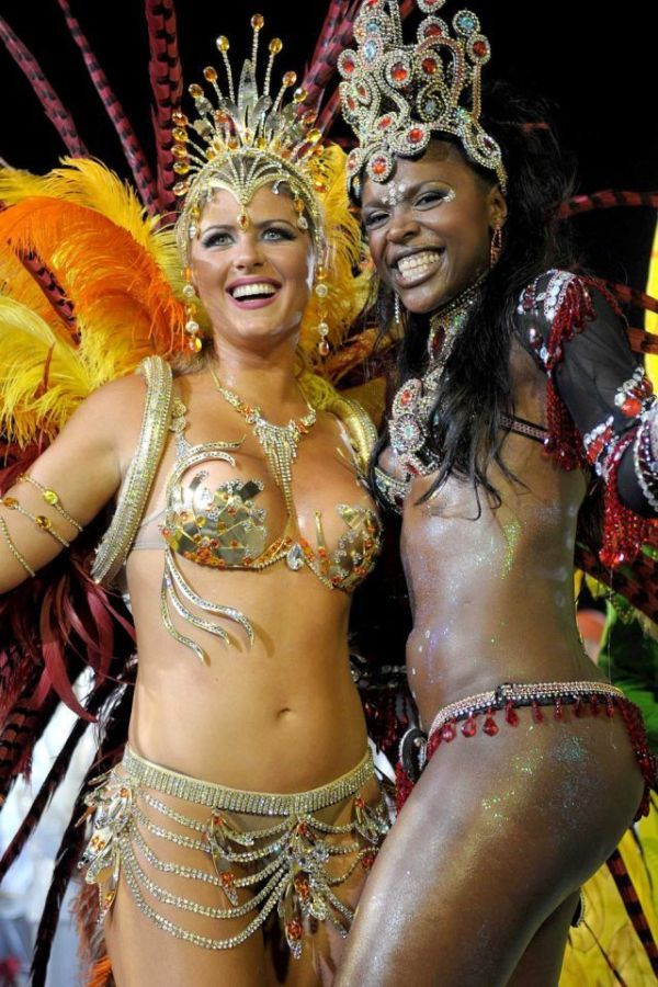 Hot rio carnival girls